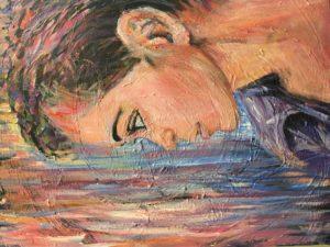 """Dreamer"" -Acrylic"